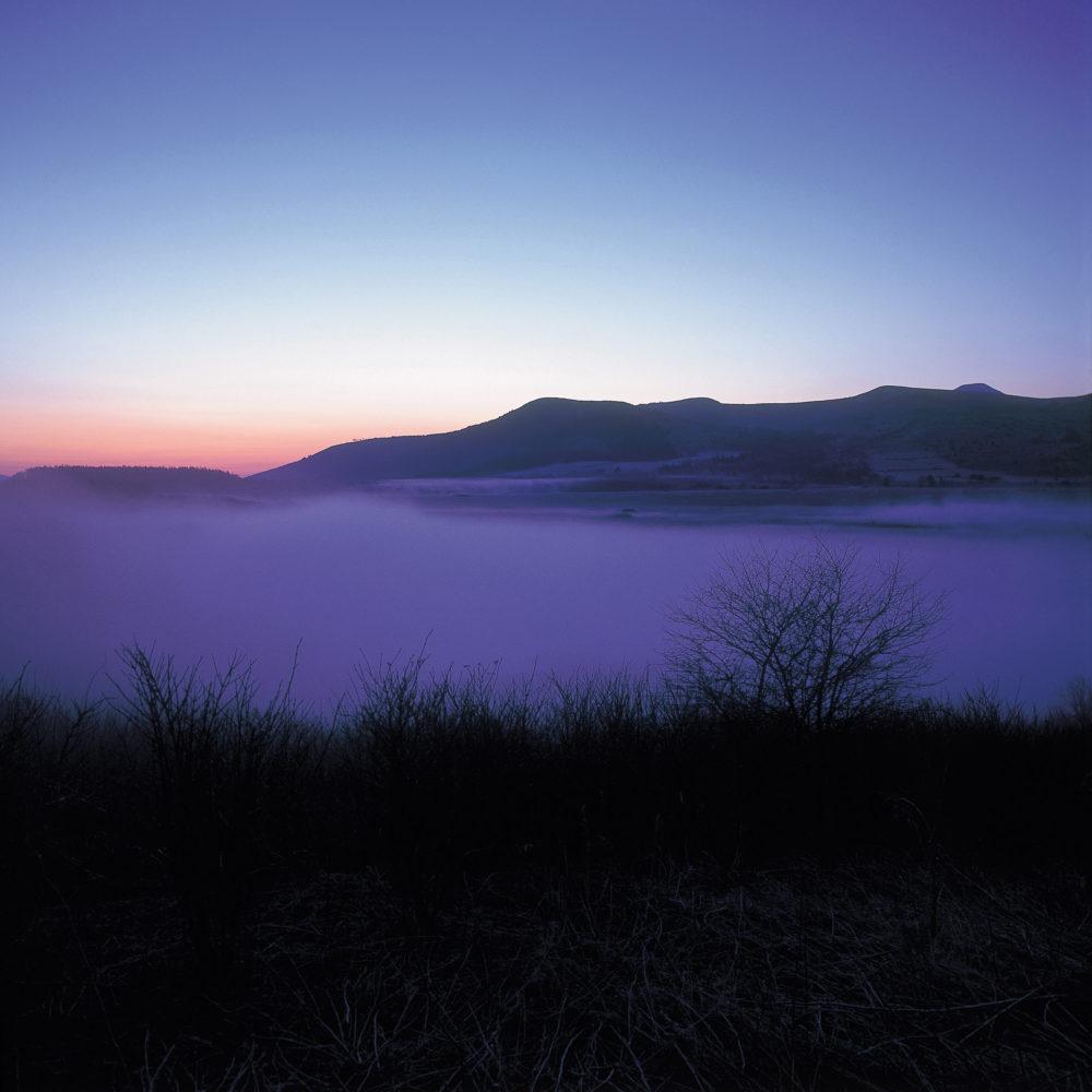 霧ヶ峰の冬の朝